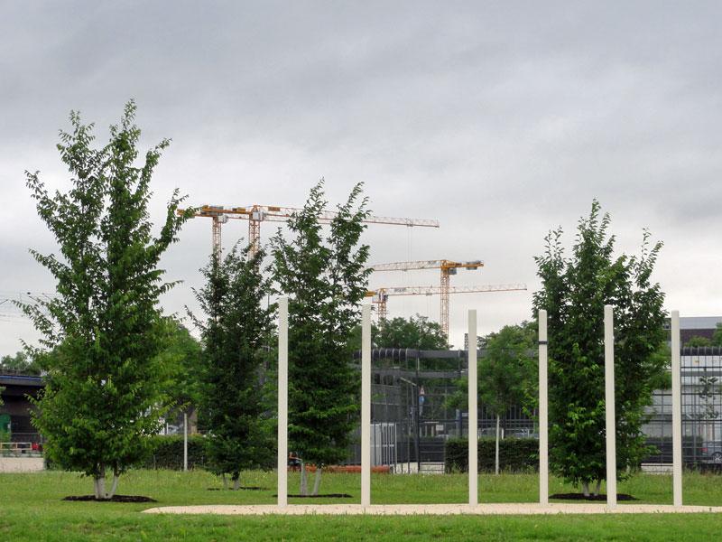 Hafenpark in Frankfurt