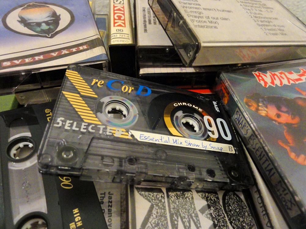Audiokasssetten von früher