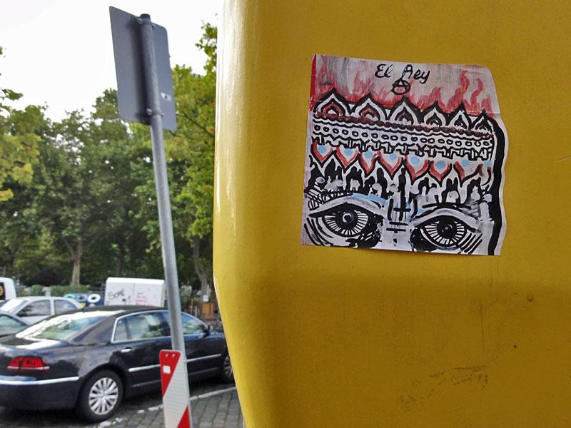 STREETART IN FRANKFURT VON IRO - EL REY