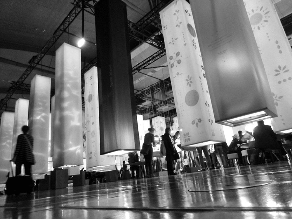 Frankfurter Buchmesse 2015 - Halle des Ehrengastes Indonesien