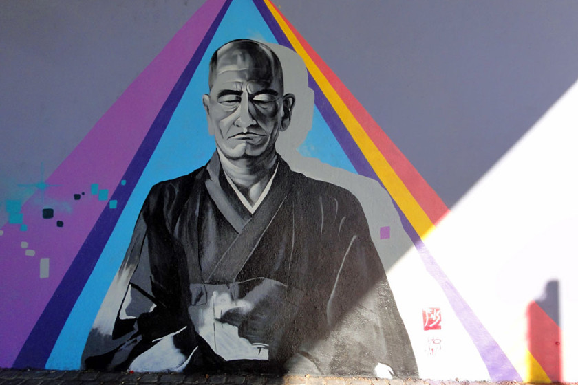 frankfurt streetart mural jens shoshin friedensbrücke 1