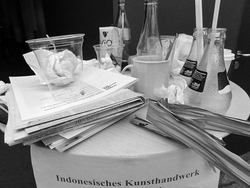 Überraschend anders - Indonesisches Kunsthandwerk auf der Frankfurter Buchmesse 2015