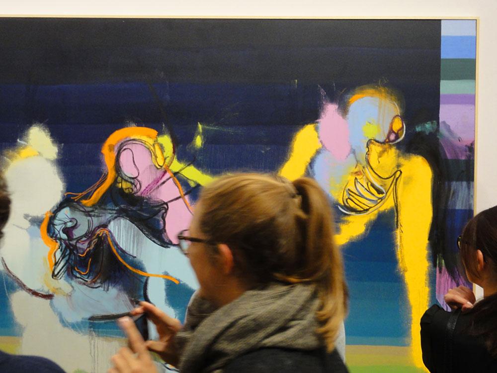 """schirn-frankfurt-daniel-richter-vernissage-fotos-Fotos von der Ausstellungseröffnung """"Daniel Richter - Hello, I love you"""" in der Schirn Kunsthalle"""