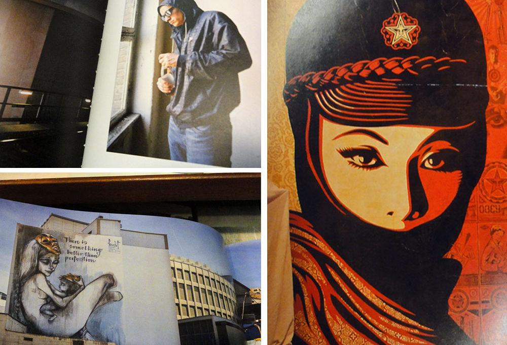 Streetart- und Graffiti-Bücher auf der Frankfurter Buchmesse 2015