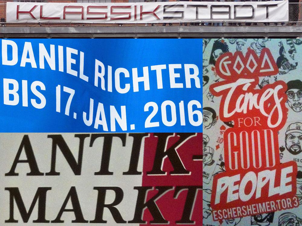 Veranstaltungshinweise für Frankfurt