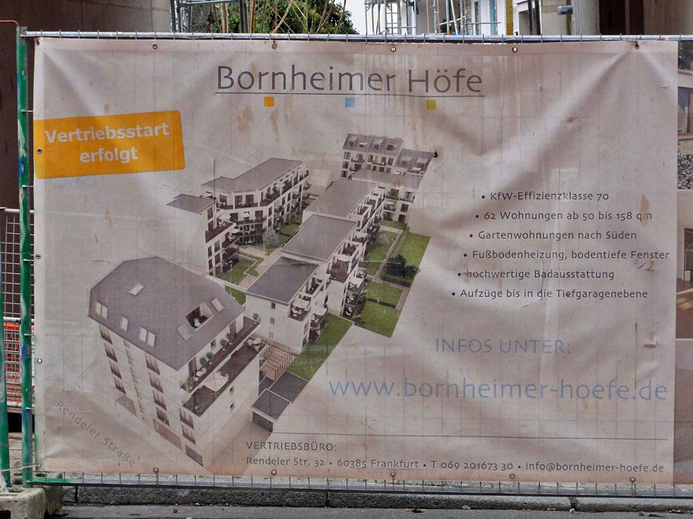 Bornheimer Höfe Frankfurt