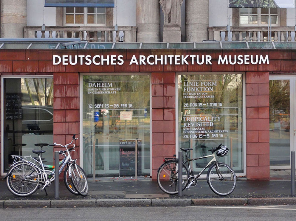 DEUTSCHES ARCHITEKTUR MUSEUM IN FRANKFURT AM MAIN