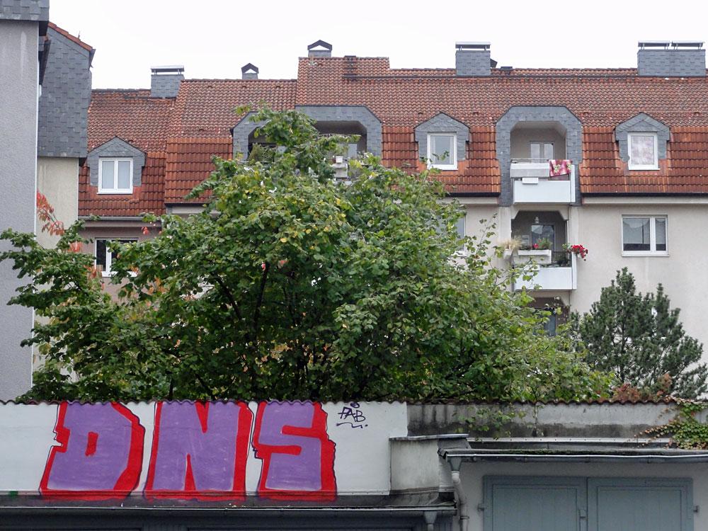 Graffiti in Frankfurt von DNS