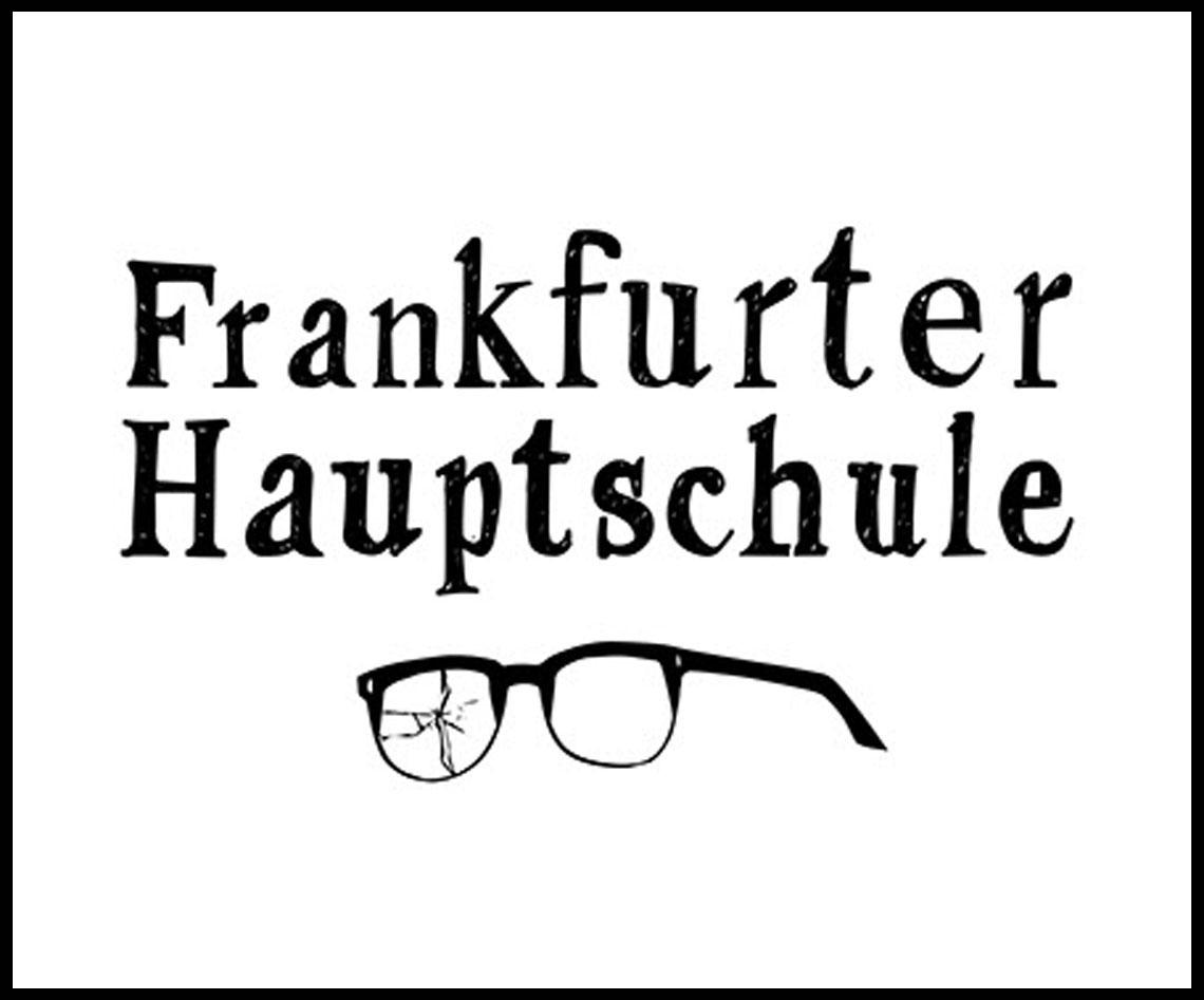 Schriftzug und Logo der Künstlergruppe Frankfurter Hauptschule