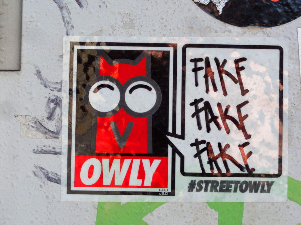 OWLY - FAKE FAKE FAKE