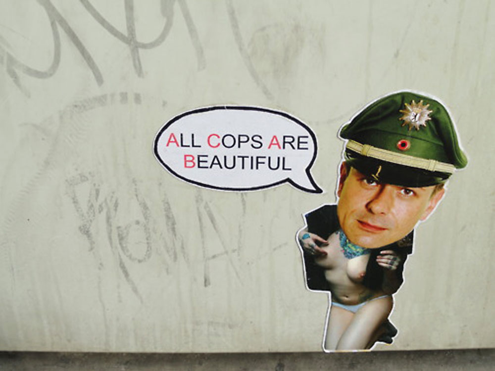 ACAB - All Cops Are Beautiful