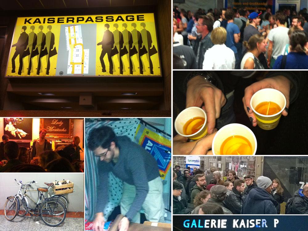 Galerie Kasier P und Kaiserpassage in Frankfurt