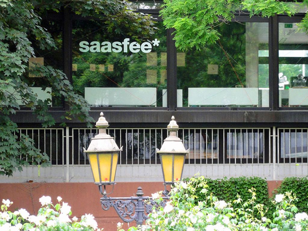 saasfee* Pavillon in Frankfurt