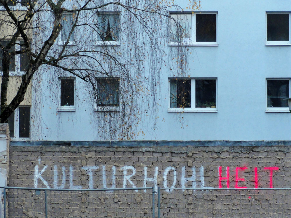 Kulturhohlheit in Frankfurt