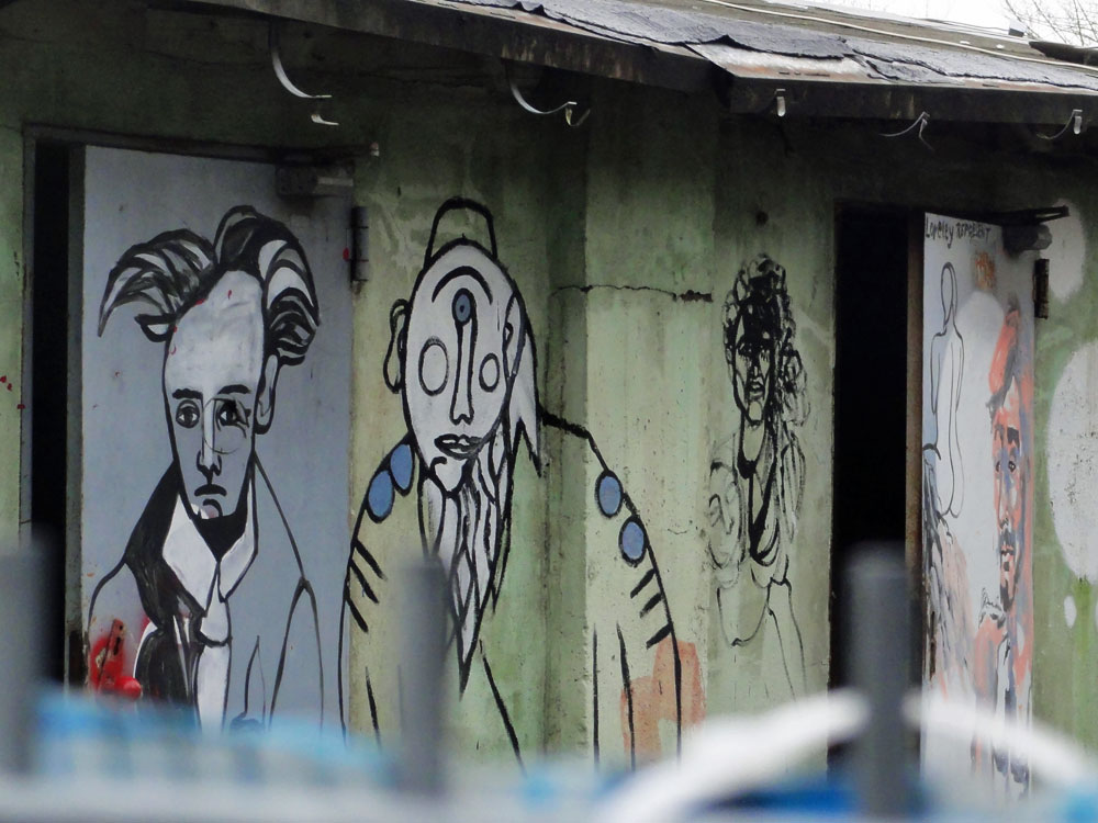 "Streetart rund um die Gewerbebrache ""Teves"""