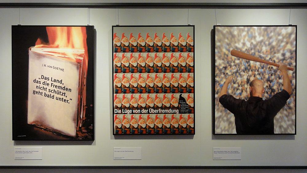 Wilhelm Zimmermann - Politische Plakatkunst (Ausstellung in Frankfurt am Main, 2016)