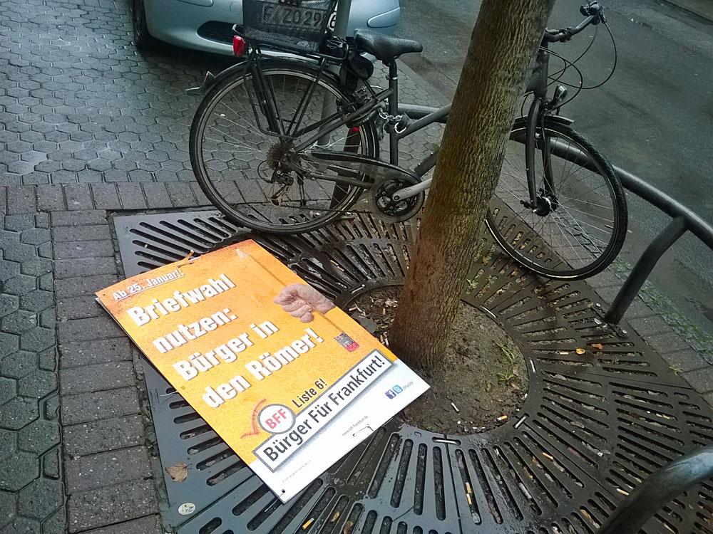 bff-buerger-fuer-frankfurt-wahl-plakat-abgerissen-berger-strasse-1