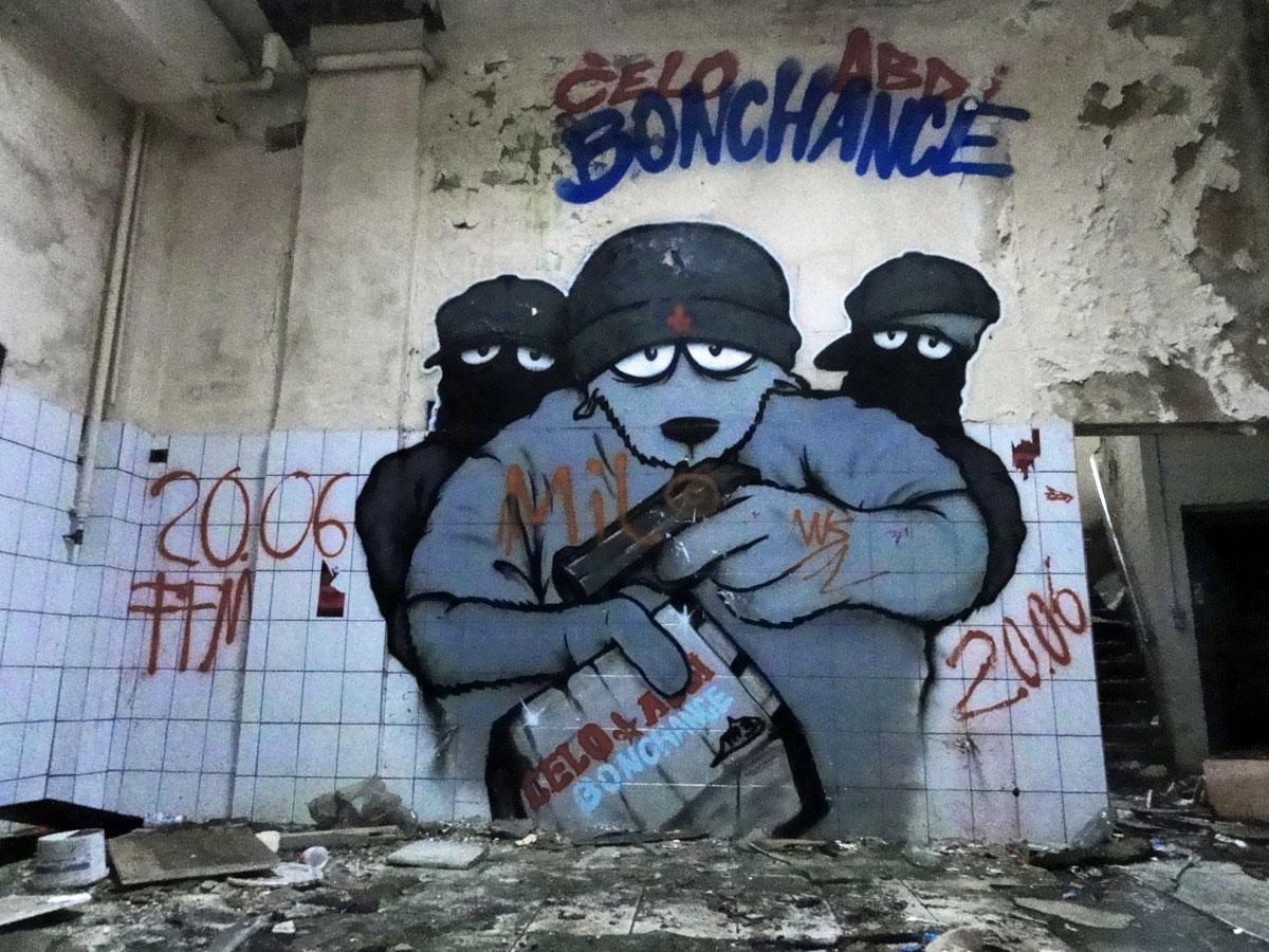 Graffiti von Celo & Abdi Bonchance
