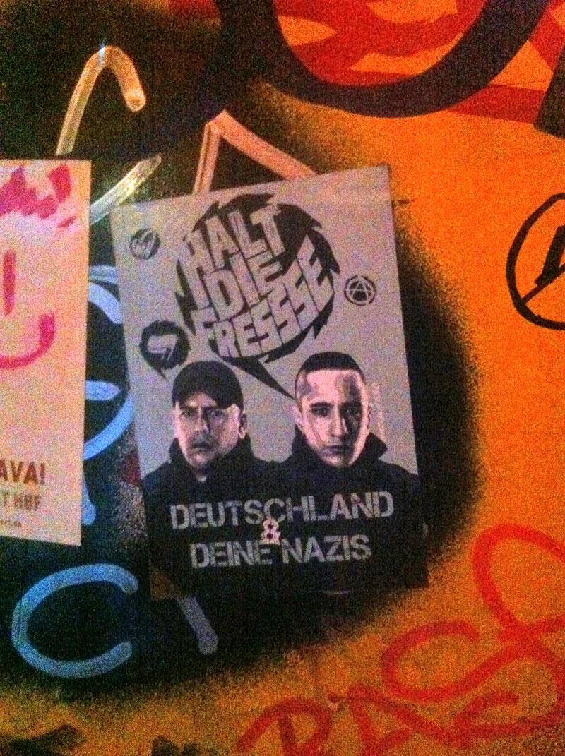 Celo & Abdi - Halt die Fresse - Deutschland & deine Nazis