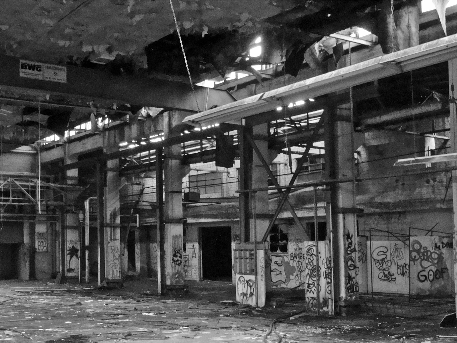 Urban Exploration Frankfurt – Lost Places: Teves Werke
