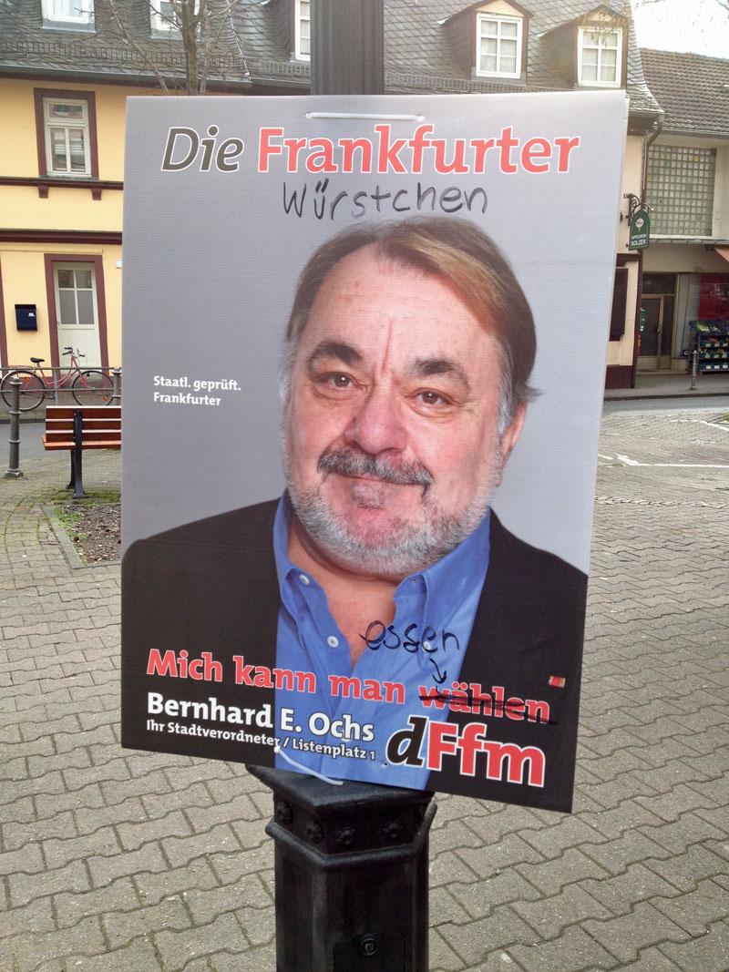 Kommunalwahl 2016 in Frankfurt: Die Frankfurter Würstchen