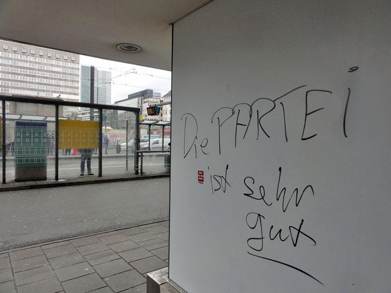 Kommunalwahl 2016 in Frankfurt: Die Partei ist sehr gut