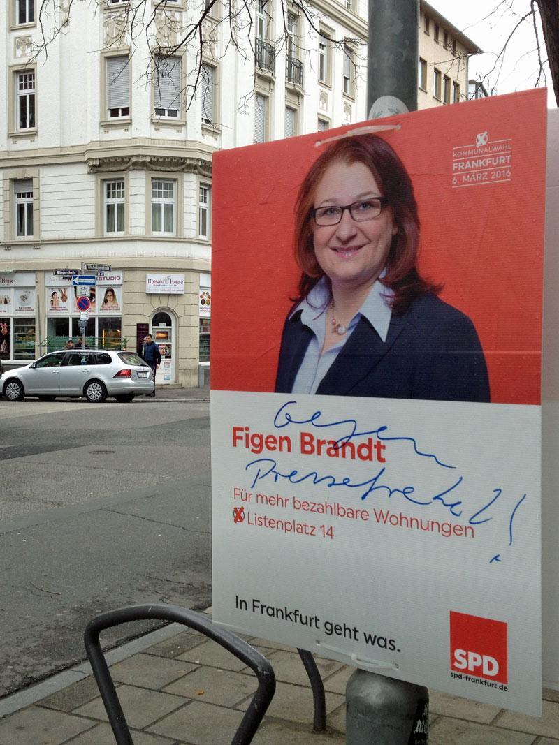 Kommunalwahl 2016 in Frankfurt: Gegen Pressefreiheit