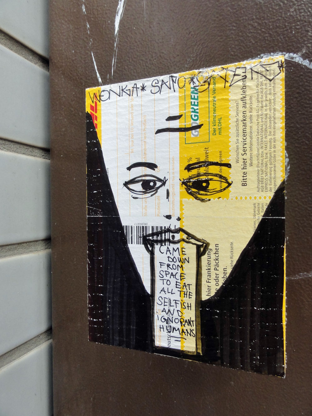 Street Art of Stickers