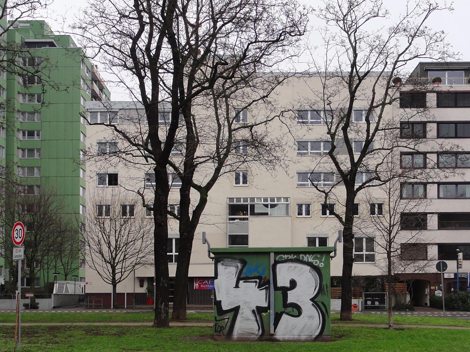 Graffiti in Frankfurt von 43