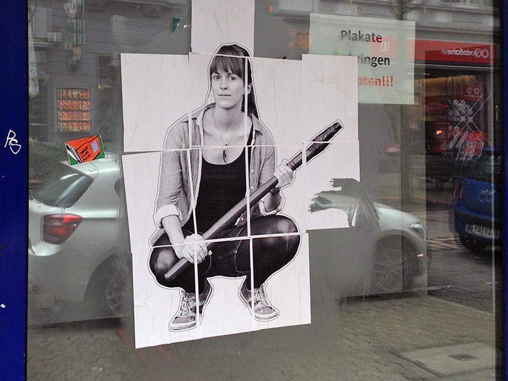 feminismus frankfurt streetart