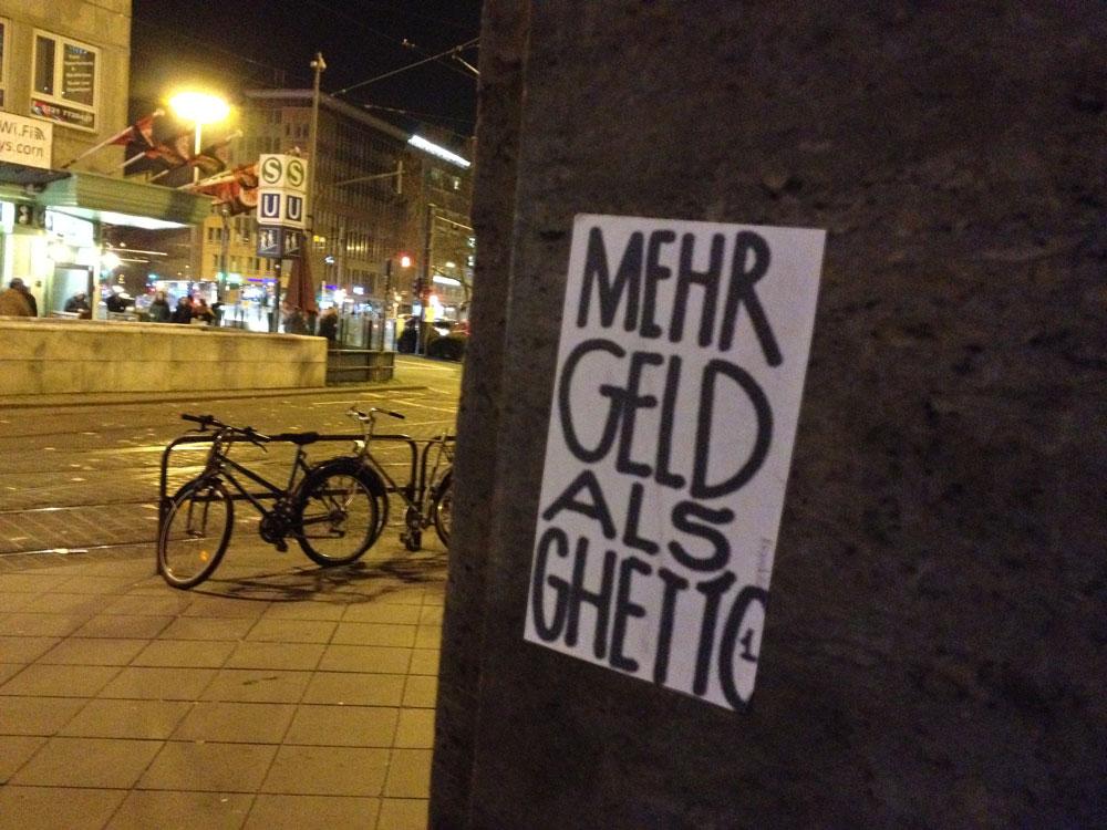 Mehr Geld als Ghetto