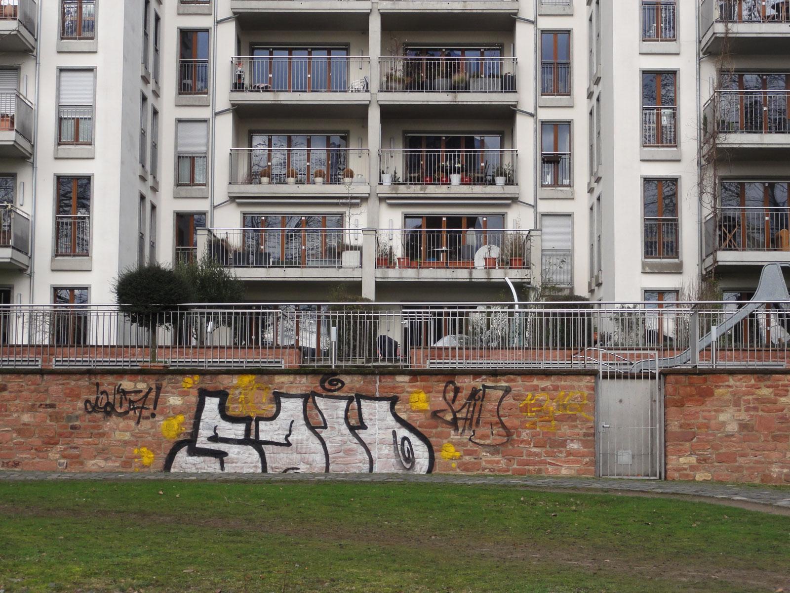 Graffiti in Frankfurt von SAID