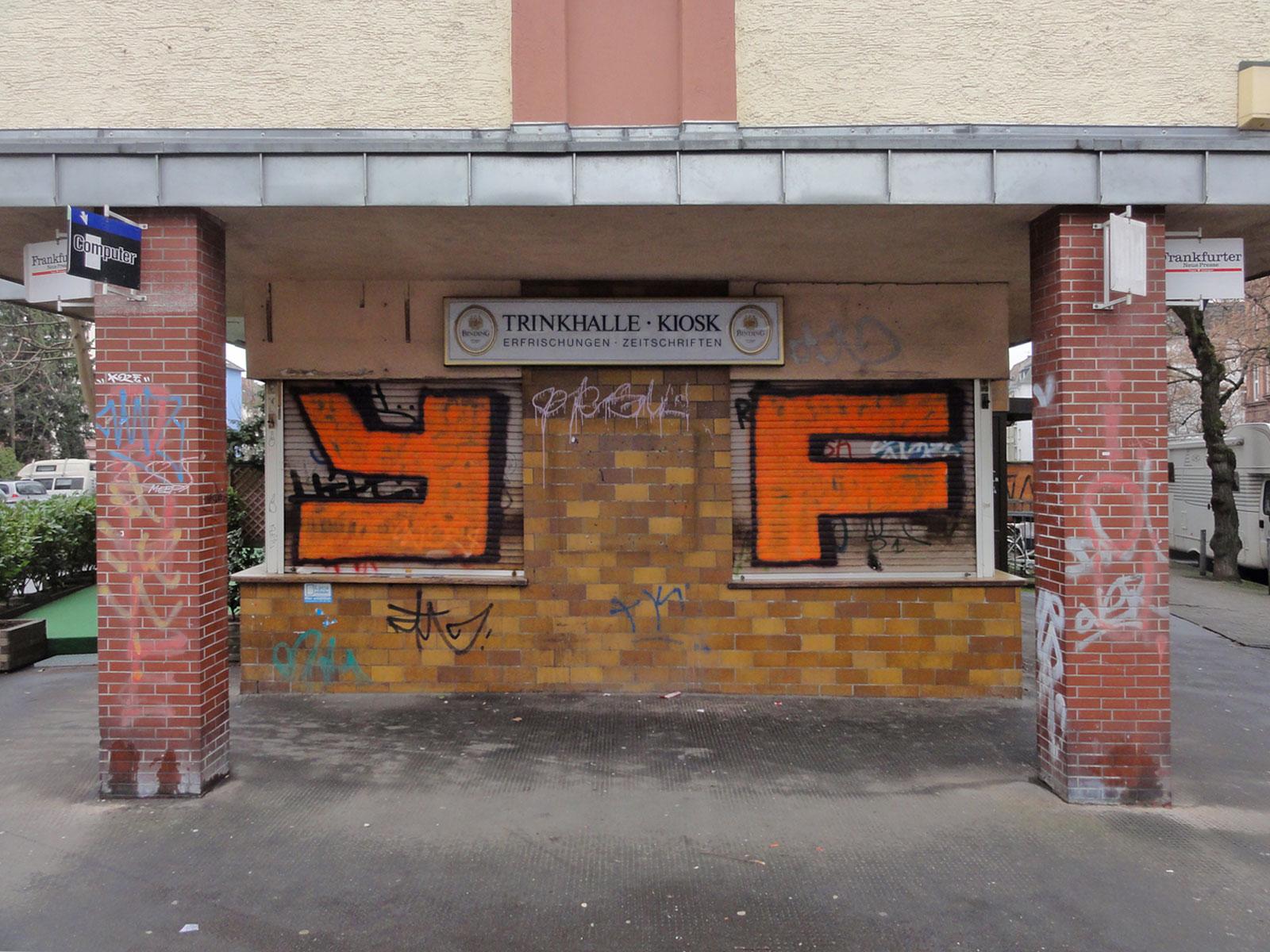 Graffiti in Frankfurt von YF