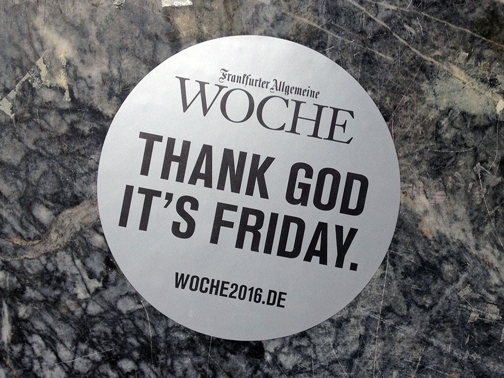 Frankfurter Allgemeine Woche