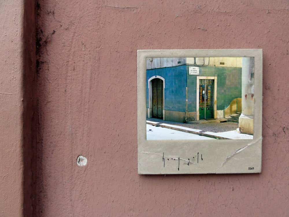 Streetart Frankfuirt - Harry Gelb - Kachel 588