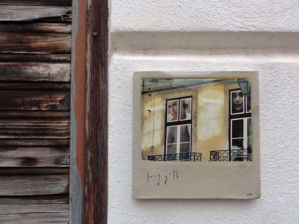 Streetart Frankfuirt - Harry Gelb - Kachel 590