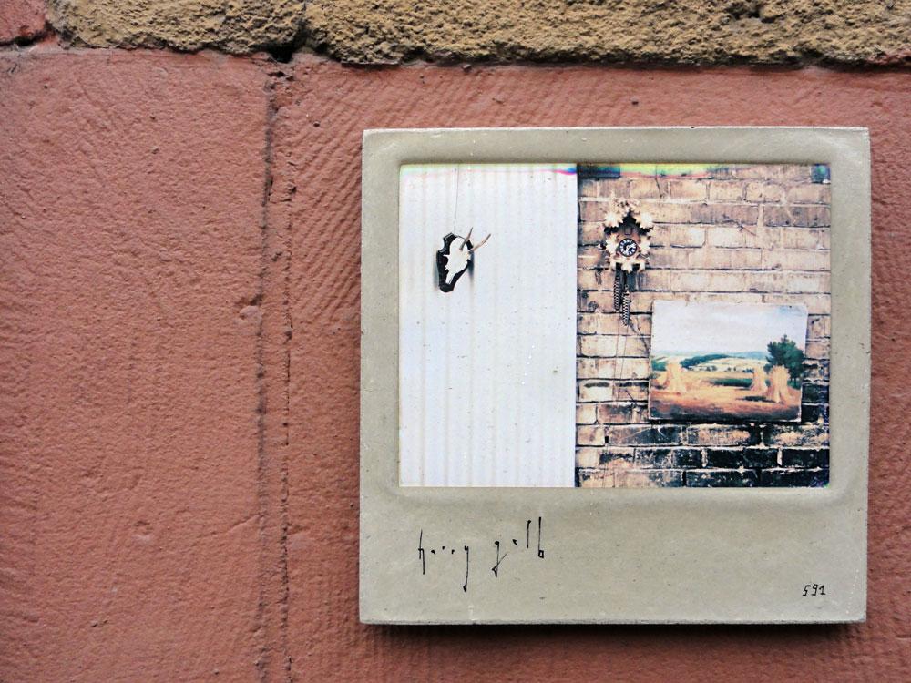 Streetart Frankfuirt - Harry Gelb - Kachel 591