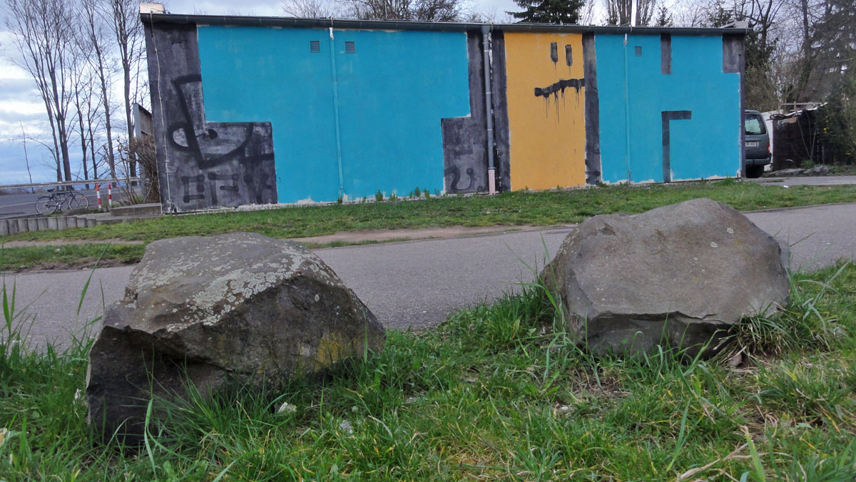 Streetart & Graffiti in Frankfurt am Main - TEK