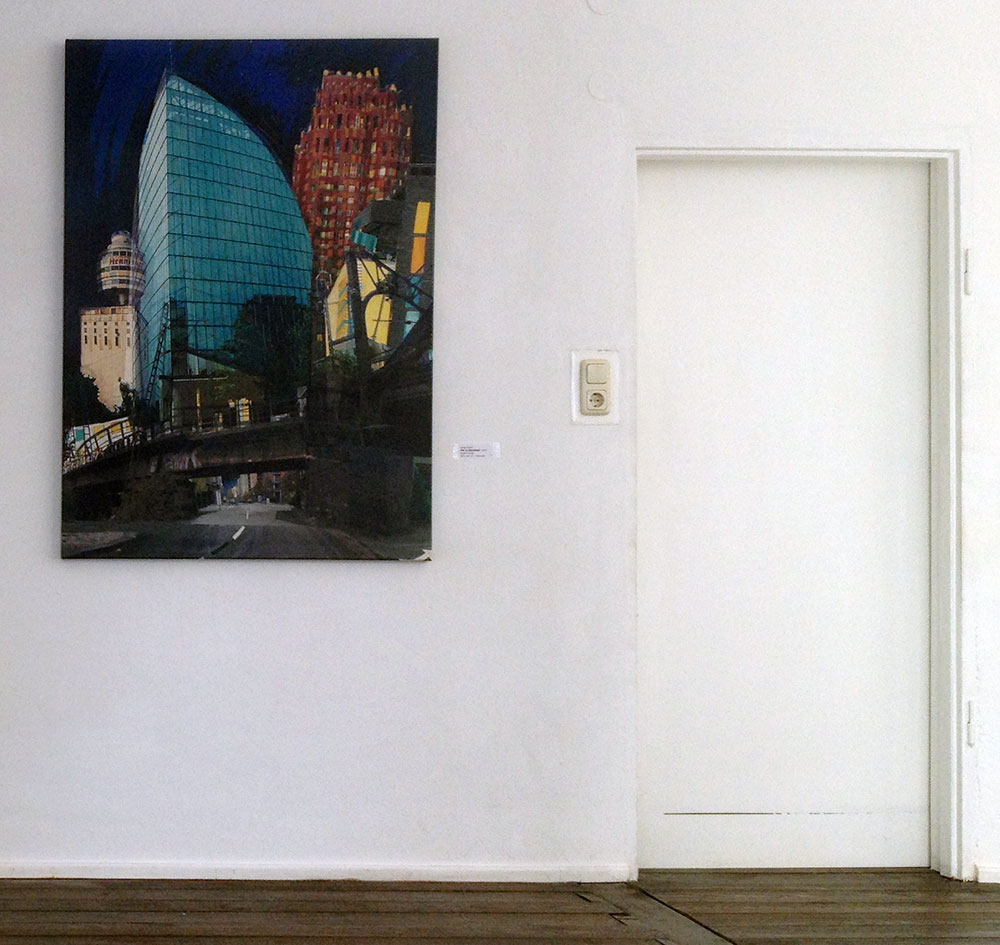 Und dazwischen der Fluss - Ausstellung in Frankfurt- Bornheim beim Ausstellungsraum Euelengasse