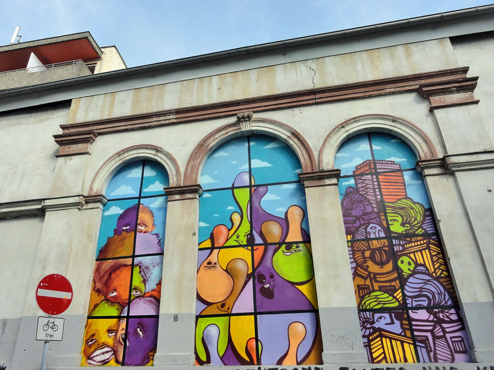 Frankfurt- Bockenheim: 5stars, Spot und PYC- Ausstellung bei The Dream Factory