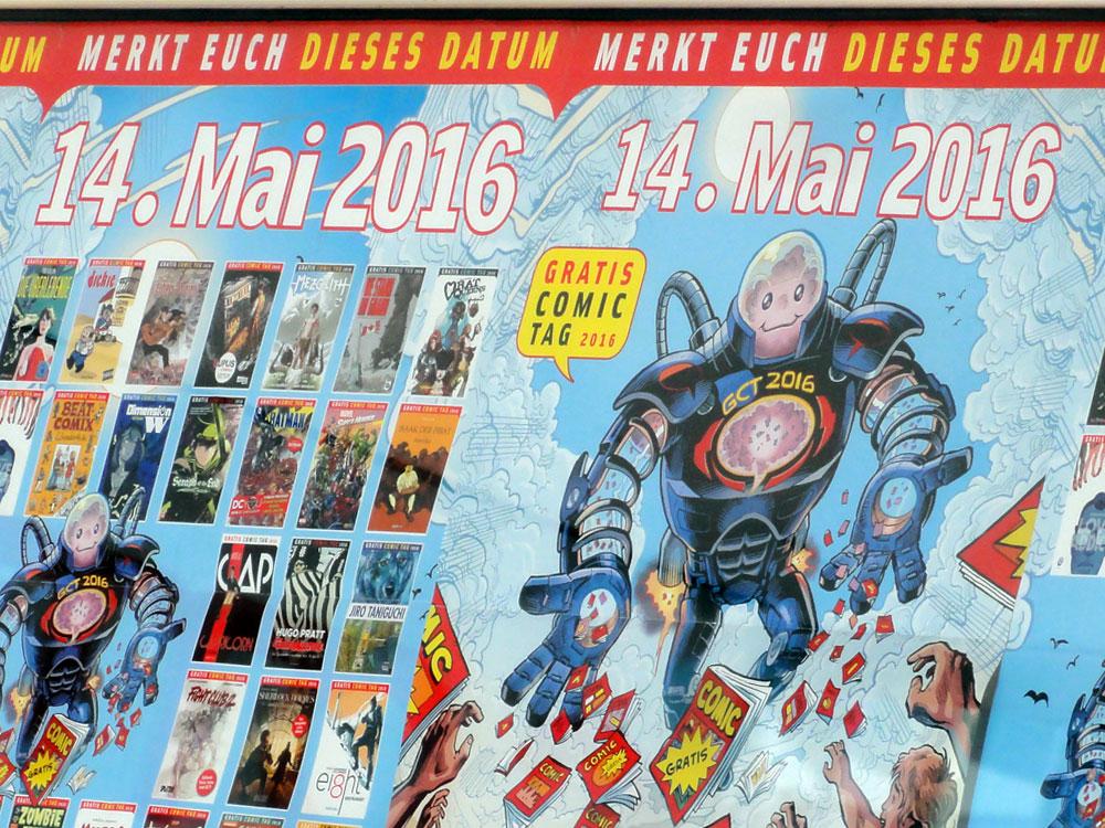 GRATIS COMIC TAG 2016 FRANKFURT