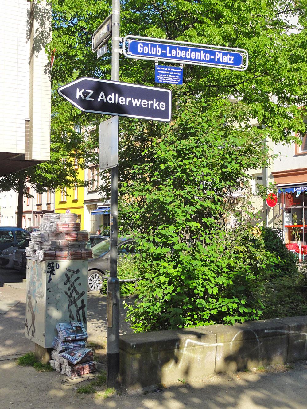 KZ Adlerwerke in Frankfurt am Main