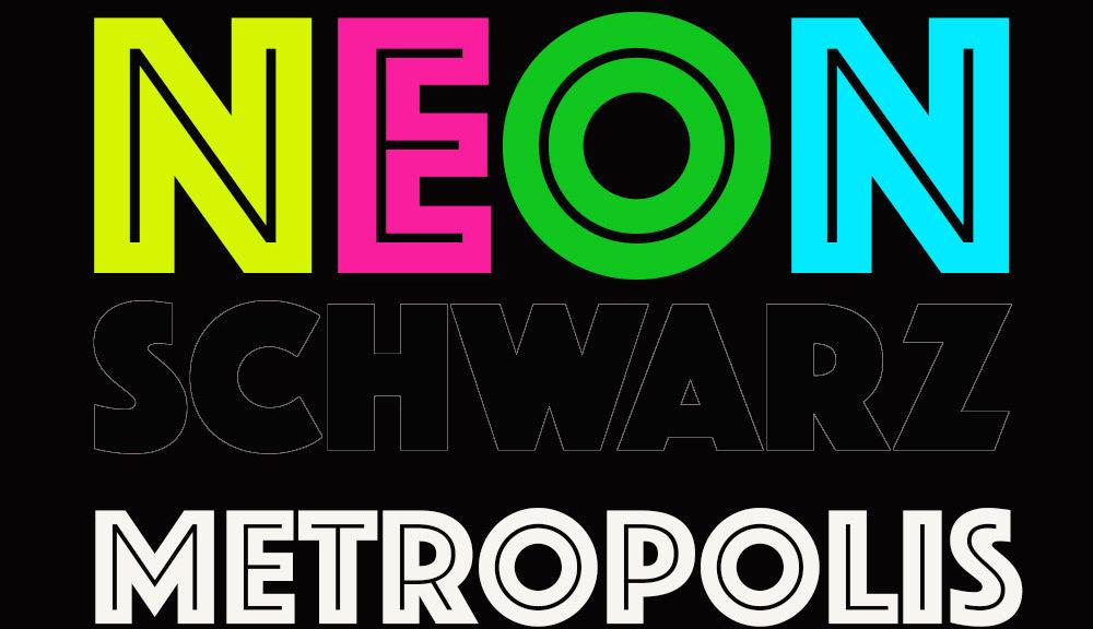 NEONSCHWARZ - METROPOLIS
