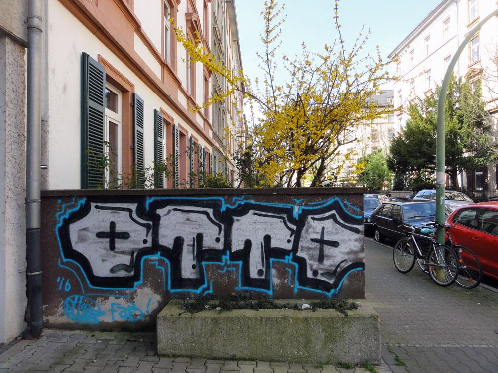 Voll der Otto. Graffiti in Frankfurt am Main von Otto.