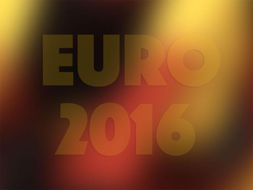 Schwarz Rot Gold zur Euro 2016