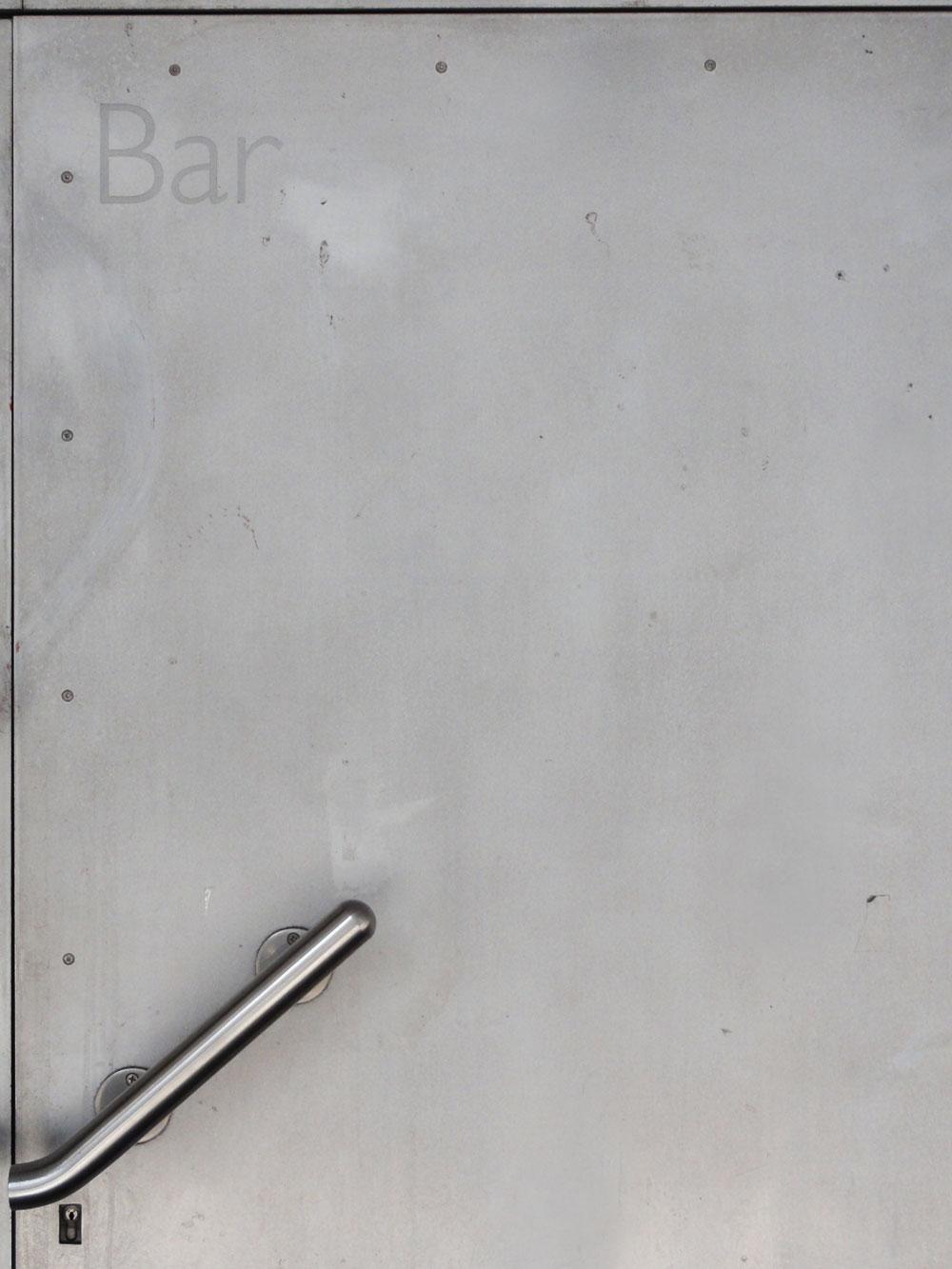 Ausschnitt der Tür des Velvet Clubs in Frankfurt am Main