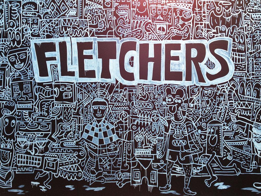 Fletcher's Burgerladen in der Berger Straße