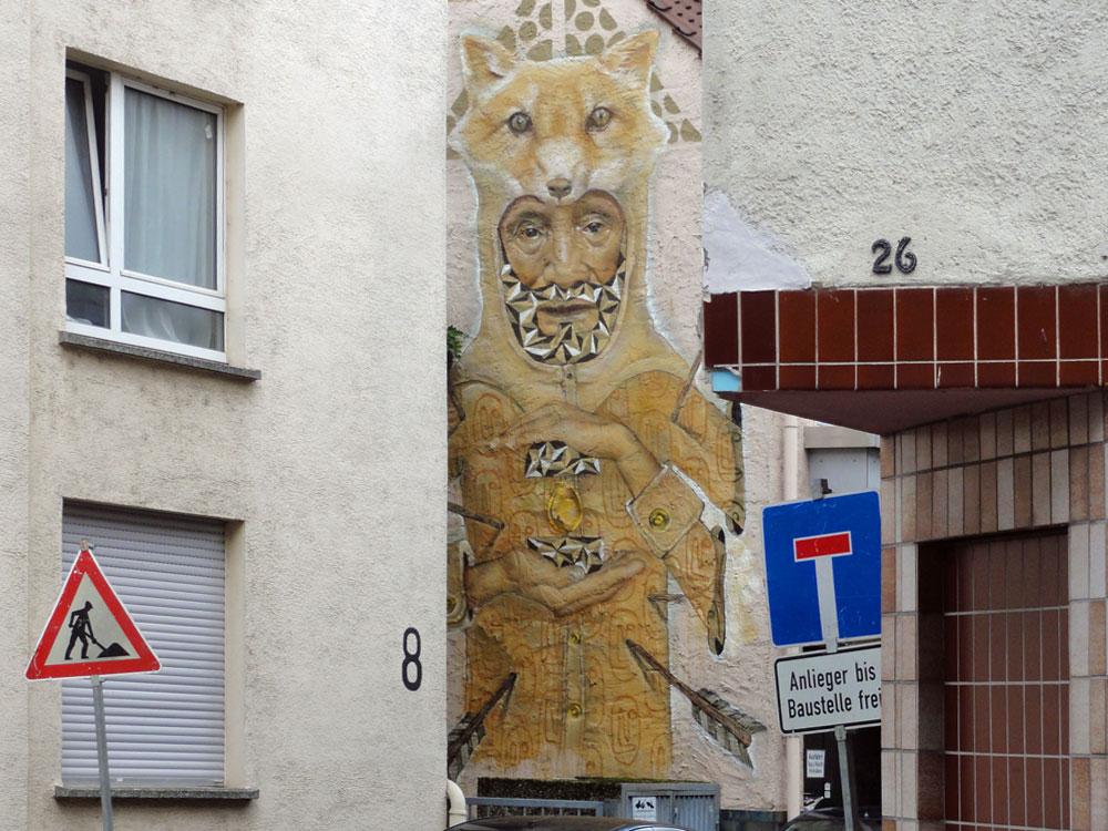 Streetart in Wiesbaden - Mural von KOZ DOS