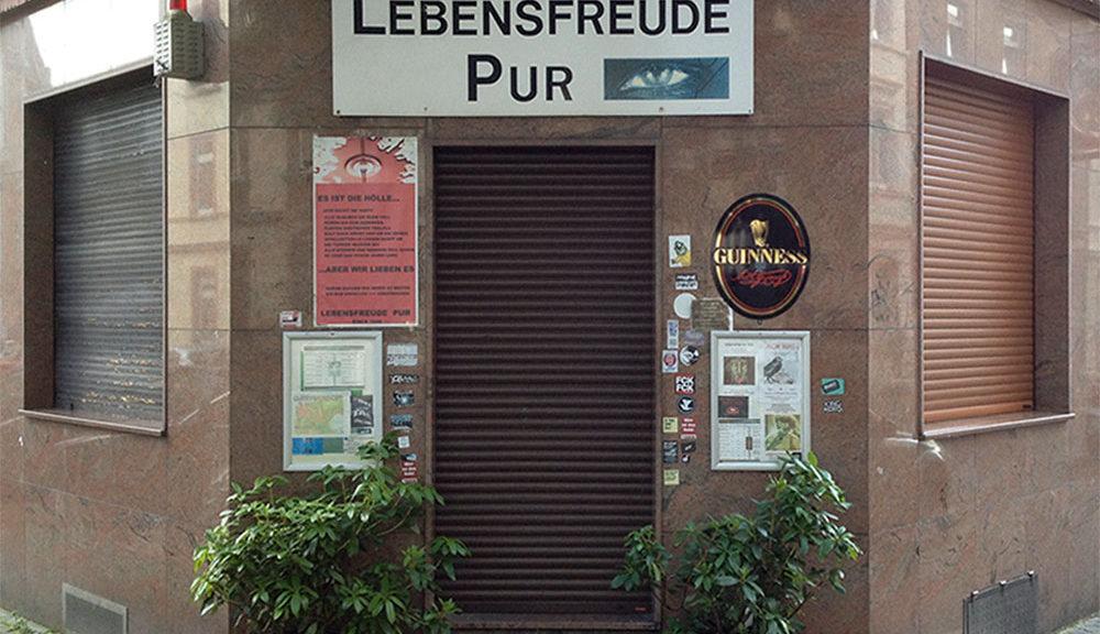 Lebensfreude Pur in der Mainkurstraße in Frankfurt Bornheim