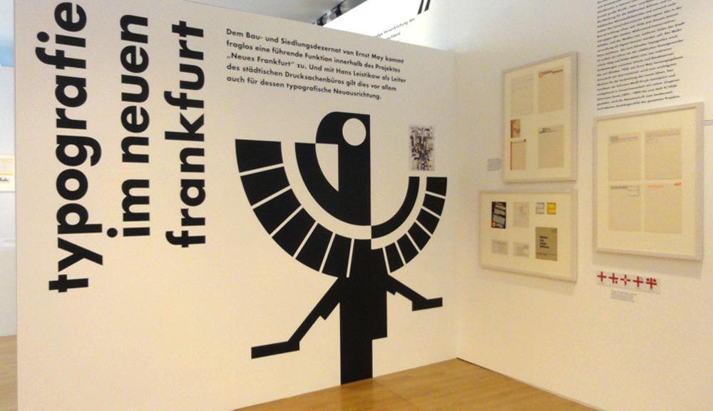 100 Jahre Neue Typografie und Neue Grafik in Frankfurt - Ausstellung im Museum Angewandte Kunst Frankfurt